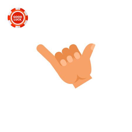comunicacion no verbal: Ilustración de la mano derecha que muestra gesto bebida. gesto de la mano, la bebida, los dedos. Beber concepto. Puede ser utilizado para temas como el gesto de la mano, la bebida, la comunicación no verbal