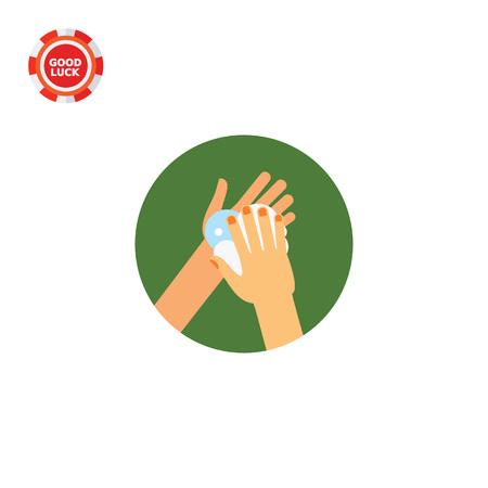 lavamanos: Manos hacer espuma de jabón. Limpia, espuma, hábito. Lavarse las manos concepto. Puede ser utilizado para temas como la higiene, la salud, la asistencia sanitaria.