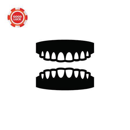Gums With Teeth. Mouth, Dental, Care. Teeth Concept. Can Be Used ...