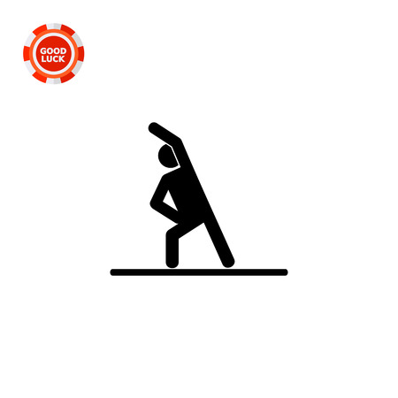 exercising: Man doing exercise. Strength, body, muscles. Exercise concept. Can be used for topics like sport, health, fitness.