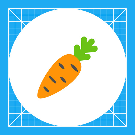 Carrot icon Illustration