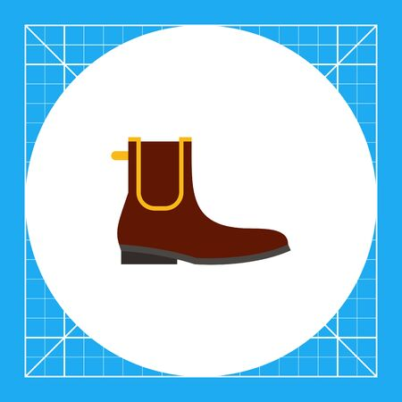 topics: Chelsea boot. Man, leather, classic. Footwear concept. Can be used for topics like footwear, history, fashion.