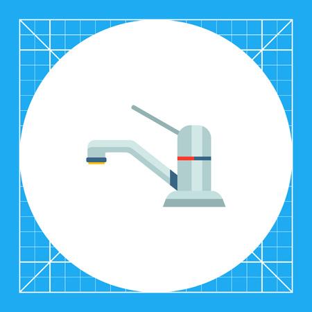 chrome: Icon of chrome mixer tap