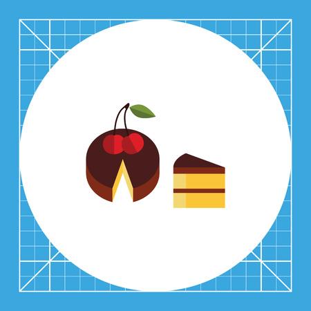 piece: Cake and piece