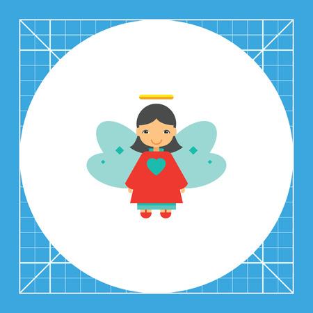 Christmas angel. Illustration