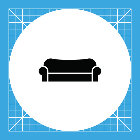 couch: Couch. Domestic, comfortable, soft.