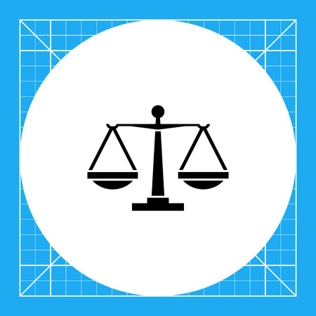 jurisprudencia: Balance scales. Judgment, equality, weighing. Justice concept. Can be used for topics like jurisprudence, criminality, business.
