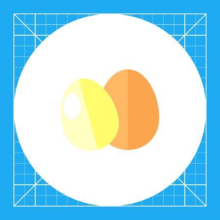 Eggs icon Illustration