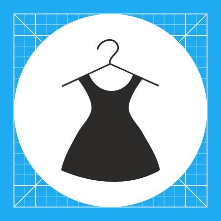 Icon of dress on hanger
