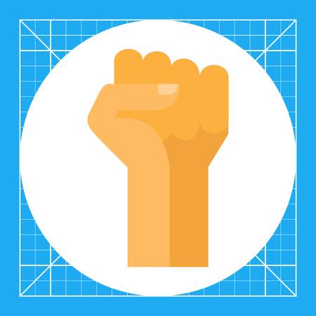 Fist up icon