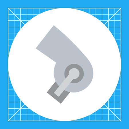 dryer: Hair dryer icon Illustration