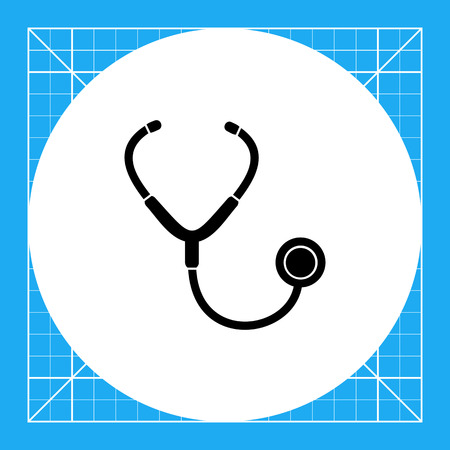 auscultation: Doctors instrument used for auscultation. Stethoscope, lung, care. Auscultation concept. Can be used for topics like medicine, healthcare, health.