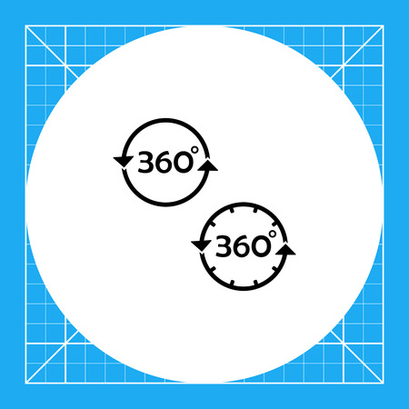representations: Set of representations of three hundred and sixty degrees. Study, angle, knowledge. Three hundred and sixty degrees concept. Can be used for topics like education, teaching, training, geometry.