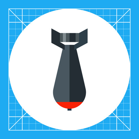 businessman suit: Multicolored vector icon of tie, element of businessman suit