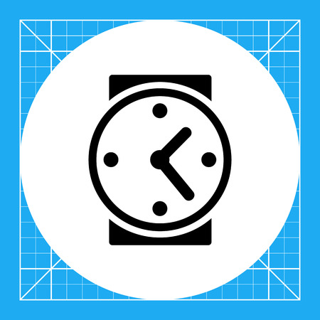 topics: Watch. Timing, time management, period. Timing concept. Can be used for topics like business, startup, management Illustration