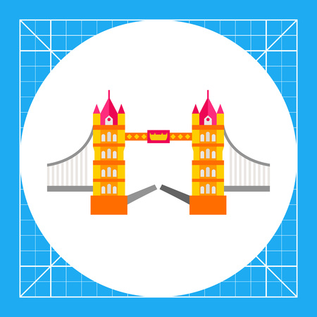 drawbridge: Tower Bridge in London. Sightseeing, famous, construction. London concept. Can be used for topics like England, tourism, architecture.