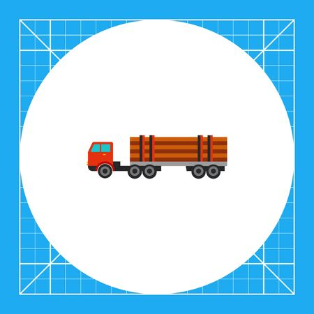 logging: Truck with logs. Transportation, lumber, load. Truck concept. Can be used for topics like transport, forestry, business.