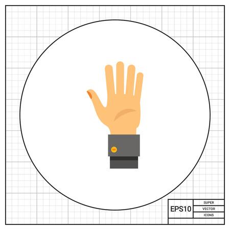 comunicacion no verbal: palma de la mano humana. Que muestra, saludo, no verbal. concepto gesto. Puede ser utilizado para temas como gestos, la comunicación no verbal, la gestión.