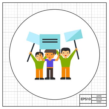 sociologia: Grupo de personas que se manifestaban. Emociones, protesta, multitud. demostración del concepto. Puede ser utilizado para temas como la política, la comunicación, la sociología.