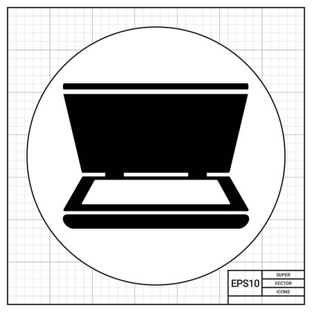 scanner: Open scanner icon