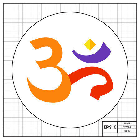 sanskrit: Om Sign Icon