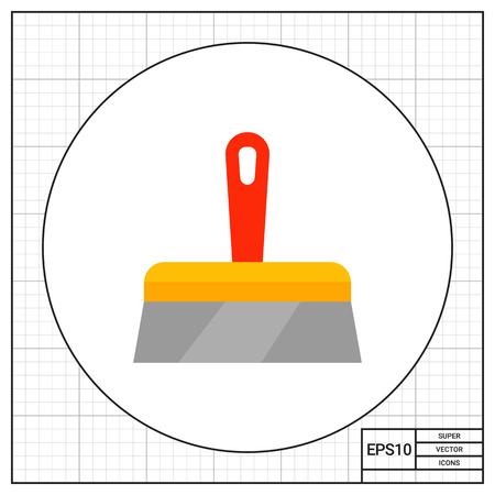 plastering: Plastering trowel icon