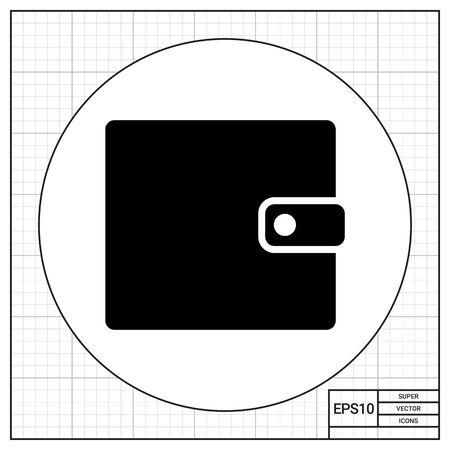poke: Purse simple icon Illustration