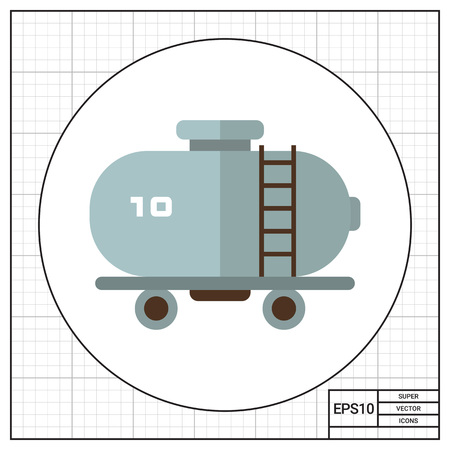 wagon: Railroad tank wagon