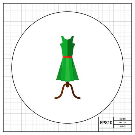 summer dress: Summer Dress Icon