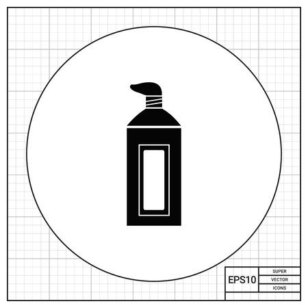 toothpaste tube: Toothpaste tube icon