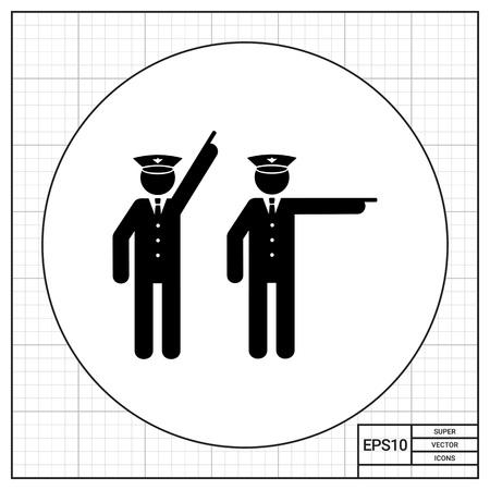 enforcer: Two Policemen Icon