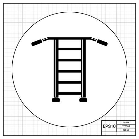 wall bars: Wall bars simple icon