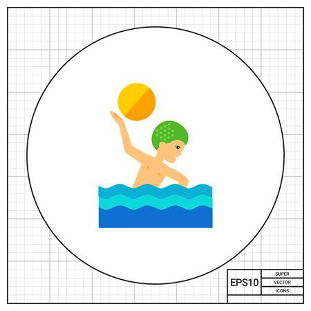 water polo: Water Polo Icon