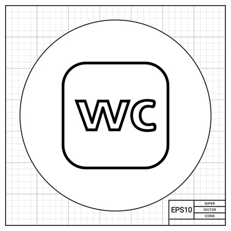 wc: WC Schild