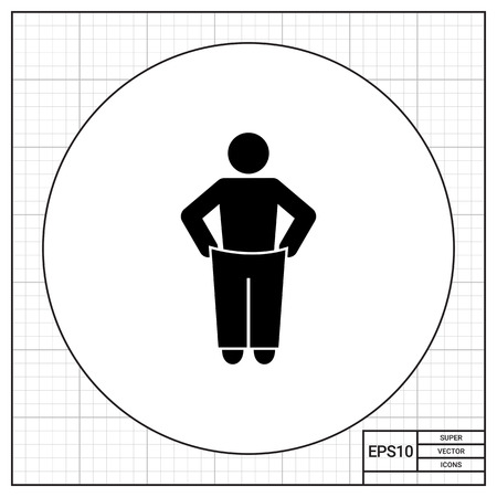 liposuction: Weight Loss Concept Icon Illustration