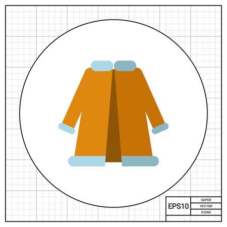 woman fur: Woman fur coat
