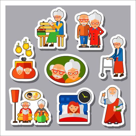 people: Old People Icon Set