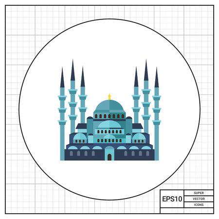 historic: Historic Sultanahmet Mosque icon