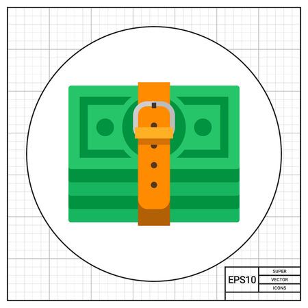 tightening: Tight Budget Icon