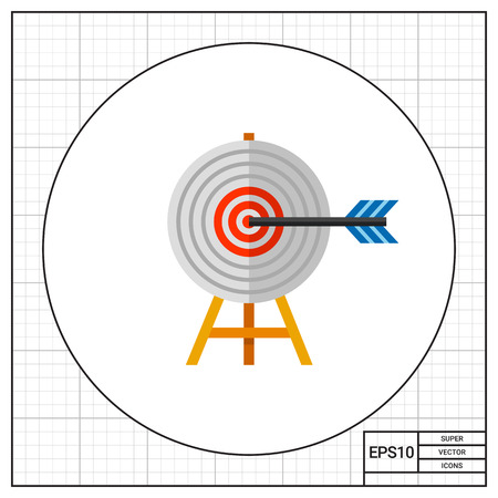targeting: Targeting Concept with Arrow Icon
