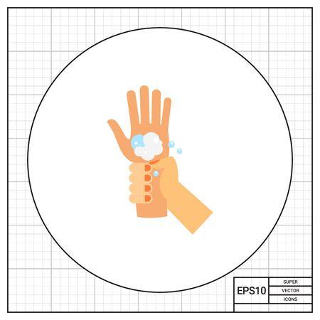 wrists: Washing Wrists Icon