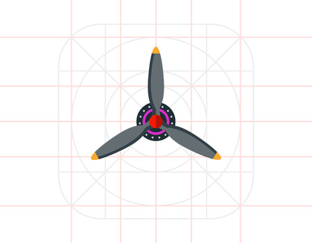 propeller: Airplane Propeller Icon