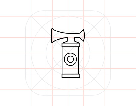 Air Horn Icon