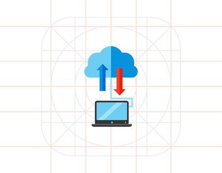 storage: Cloud Storage Concept Icon