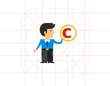 copyright: Copyright Symbol Icon