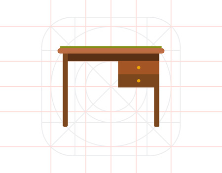 drawers: Desk with drawers