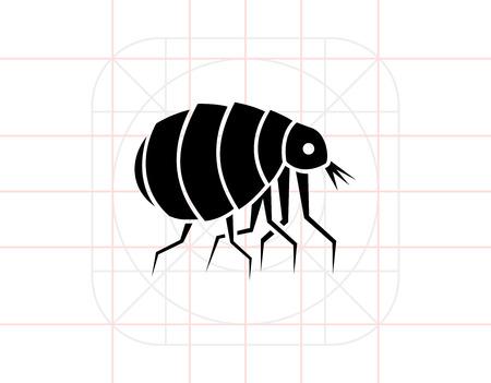 Flea Concept Icon