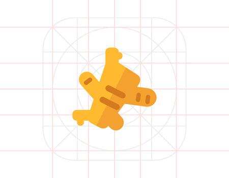 ginger: Ginger flat icon