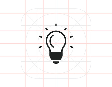 incandescent: Glowing bulb Illustration
