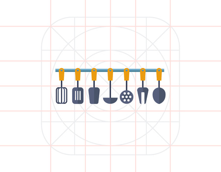 kitchen tools: Kitchen tools set